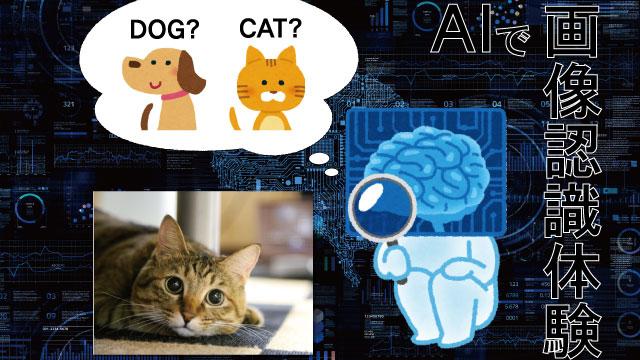 AIで画像認識体験